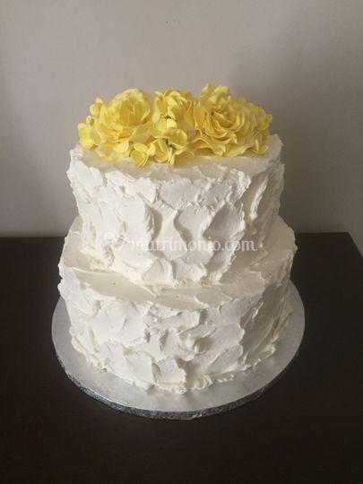 Wedding cake spatfolata