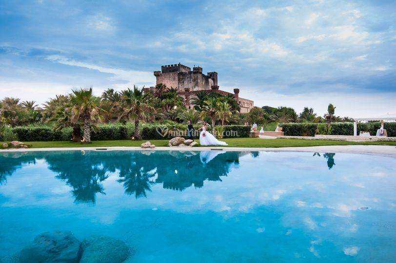Castle of Falconara.