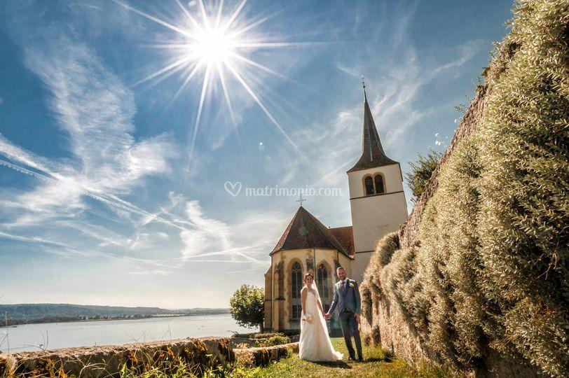 Church of  Ligerz, Switzerland