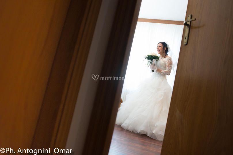 Preparativi casa sposa