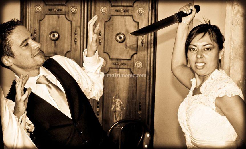 Non fate arrabbiare la Sposa