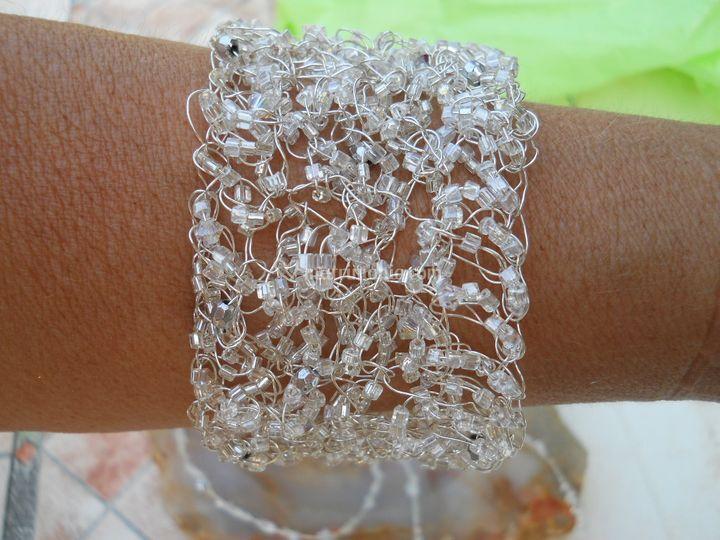 Bracciale con cristalli