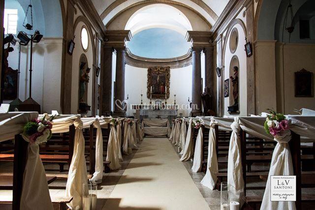 La chiesa di Montignano