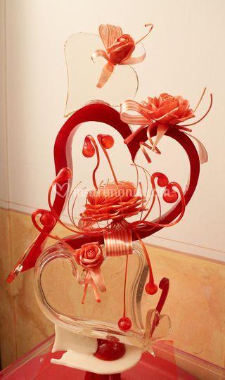 Scultura in zucchero artistico