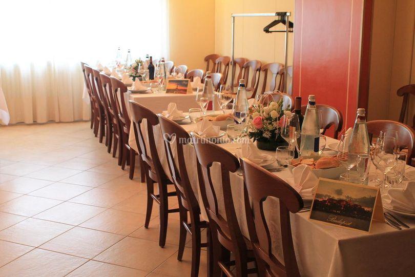 Idee per disposizione tavoli