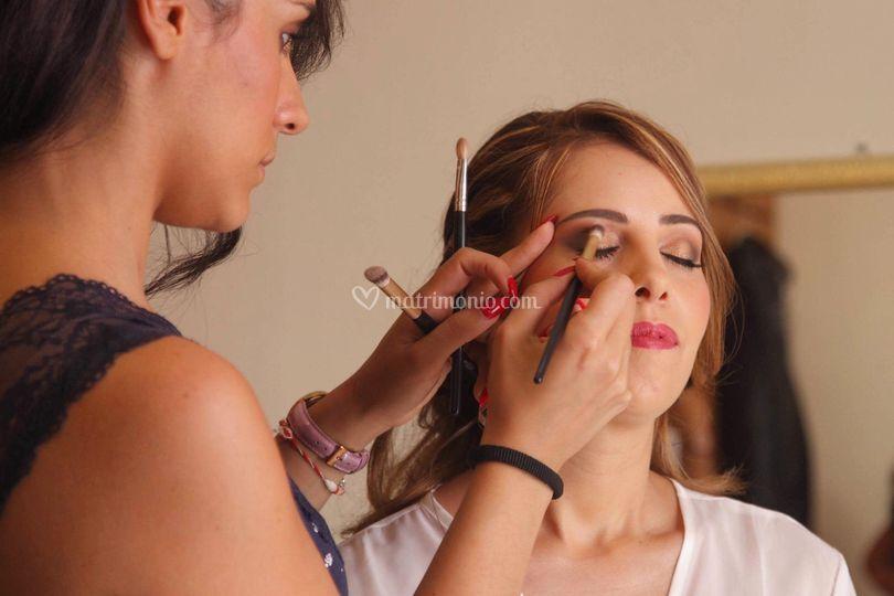 Michela Cinquegrana Make Up Artist