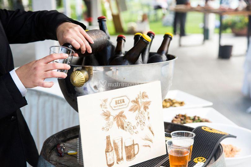 Angolo della birra artigianale