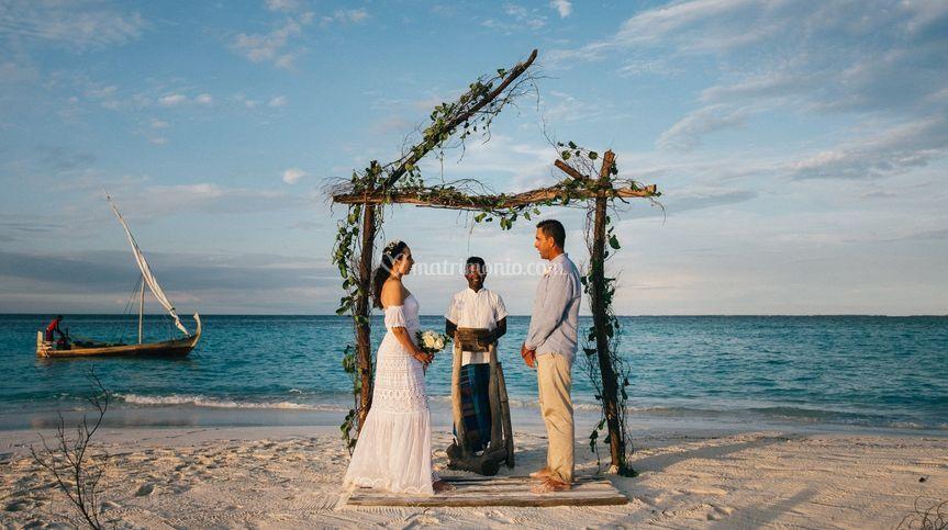 Wedding in Maldive