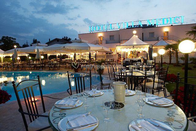 Matrimonio di Hotel Villa Medici