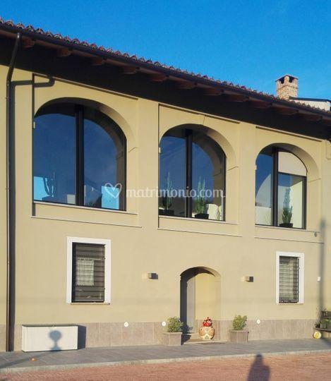 La facciata sud di la casa dell 39 architetto foto 11 for Casa colonica vivente del sud