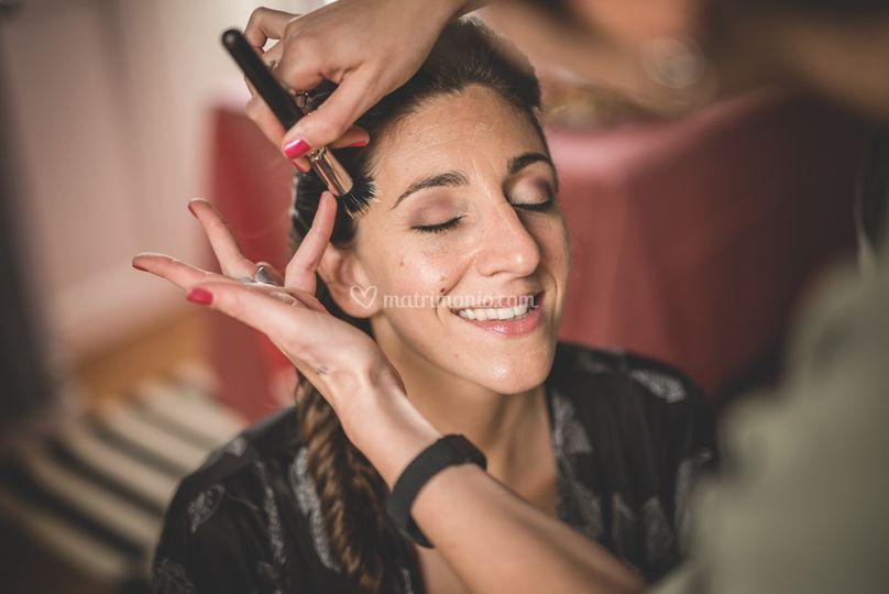 Backstage Make-up sposa