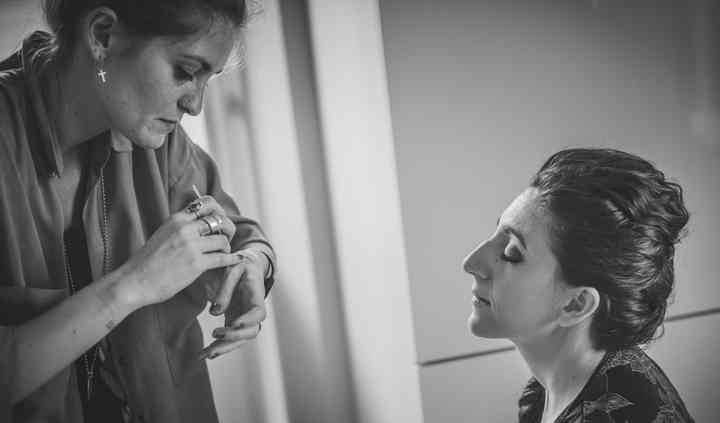 Backstage Make-up sposa