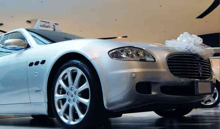 Maserati Quattroporte Grigio
