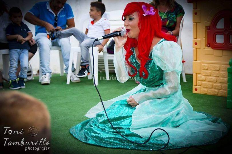 Principessa che canta