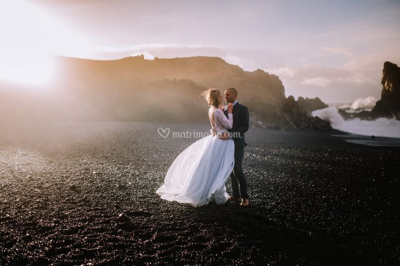 Jonna and Roland in Iceland