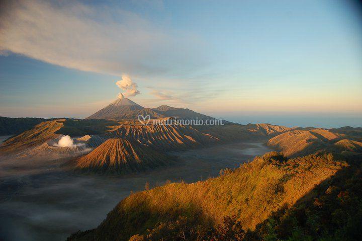 L'impetuoso ambiente naturale dell'Indonesia