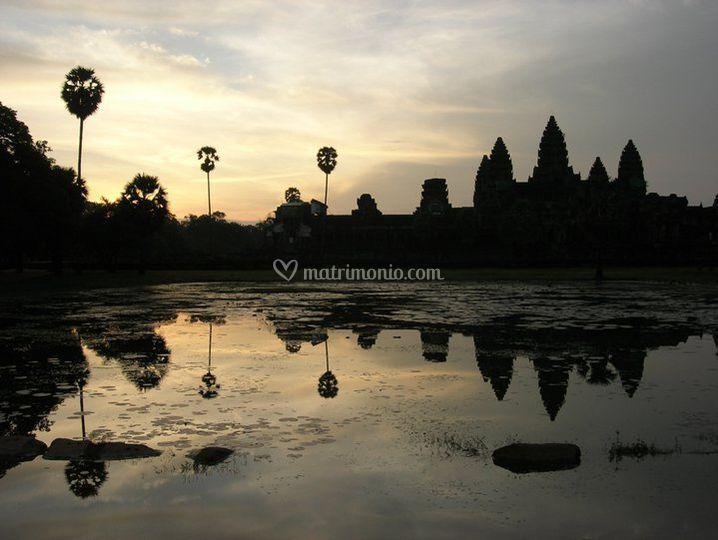I riflessi della Cambogia