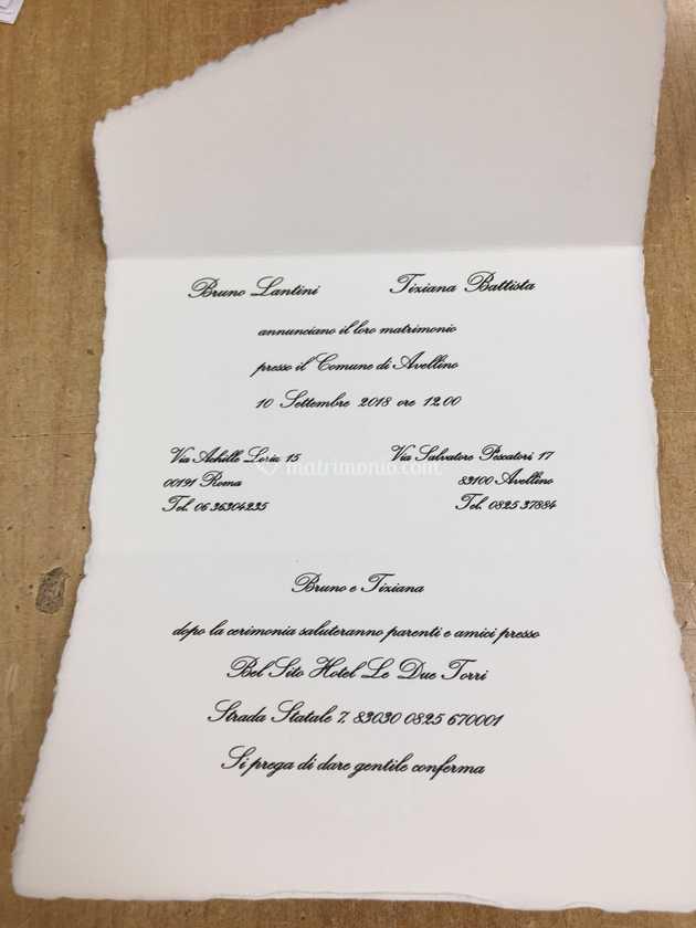 Partecipazioni Matrimonio Carta Amalfi.Partecipazioni Carta Amalfi Di Yume Event Creators Foto 11