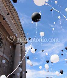 Esplosione di palloncini