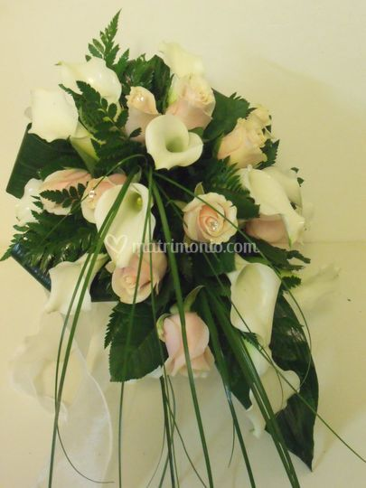 Bouquet rose talea e calle