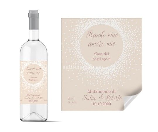 Etichetta da vino