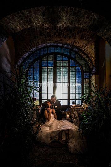 Portico romantico