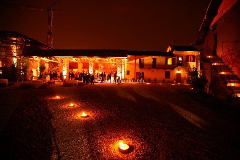 La notte all'Antico Borgo