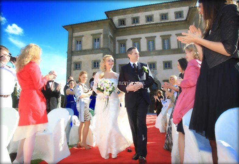 Russian wedding in Tuscany