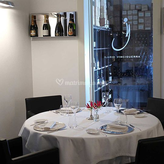 Sala ristorante gourmet