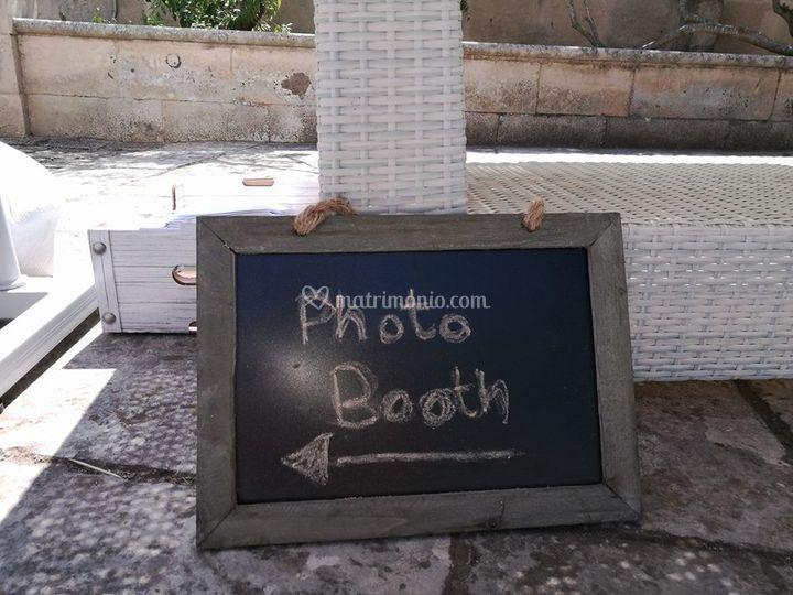 Lavagnetta segnala-photobooth