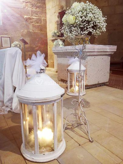 Dettagli altare