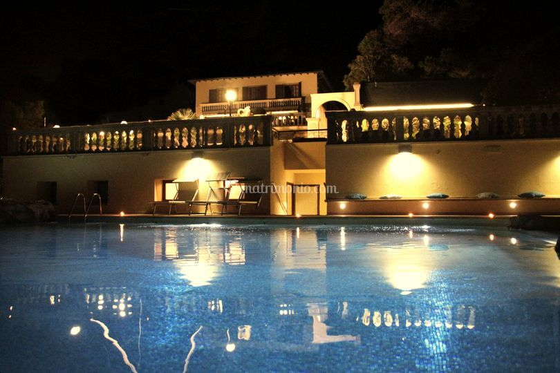 La piscina di Villa Margherita