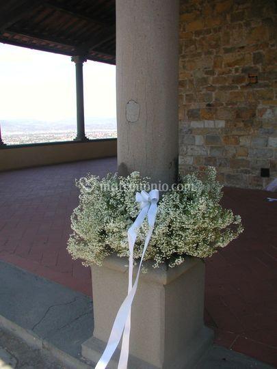 Colonne del portico di il fioraio di masiani stefania for Aggiornare le colonne del portico