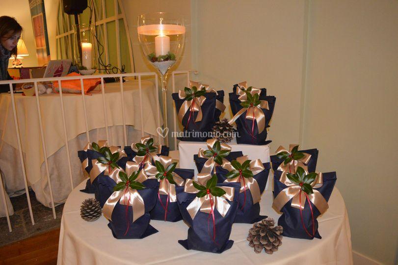 Tavolo regali Cena Aziendale