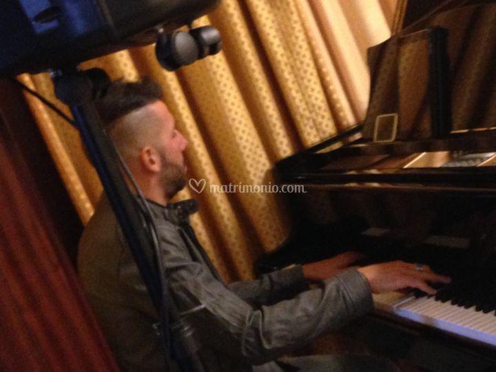 Il nostro Fabio al piano