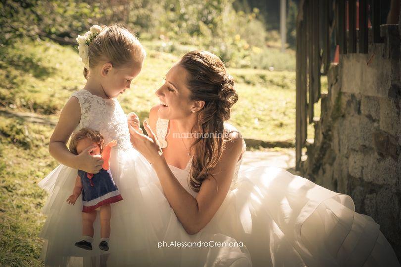 La sposa mamma