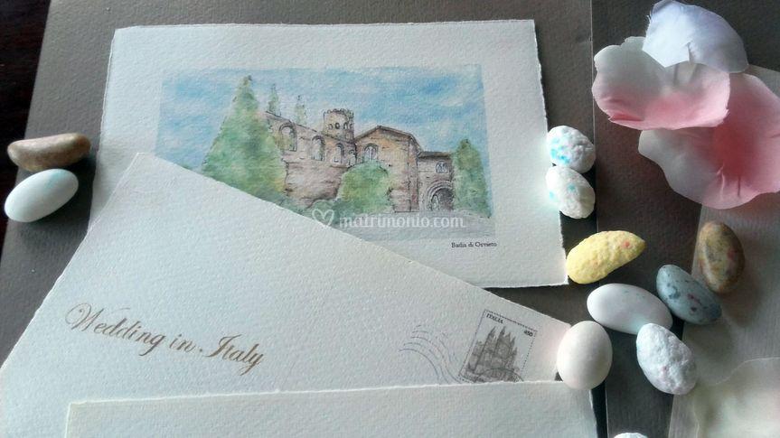 Cartoline acquerello