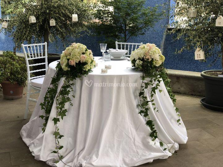 Mise en place sposi