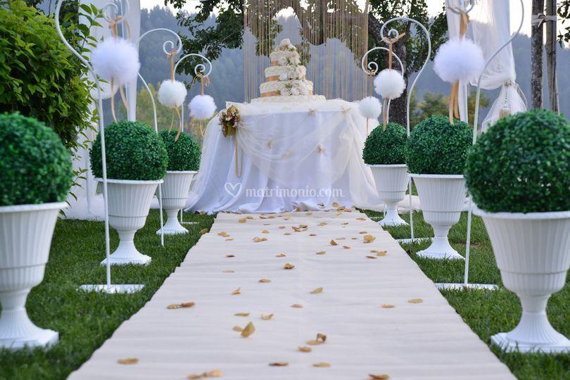 Angolo wedding cake