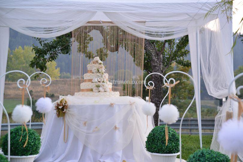 Tavolo wedding cake