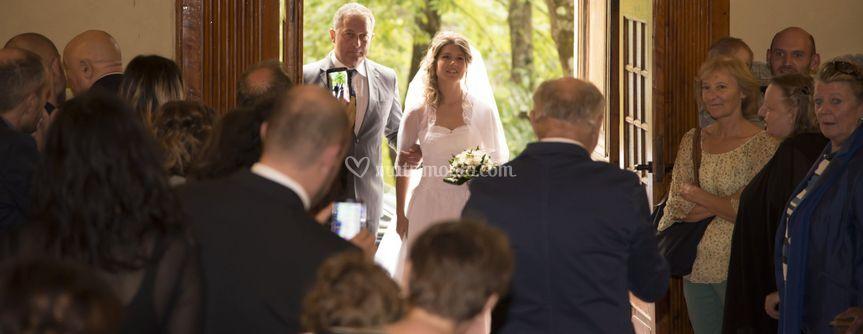 L entrata della sposa