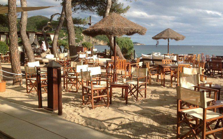 Matrimonio Sulla Spiaggia In Italia : Allestimento sulla spiaggia di paglicce beach foto