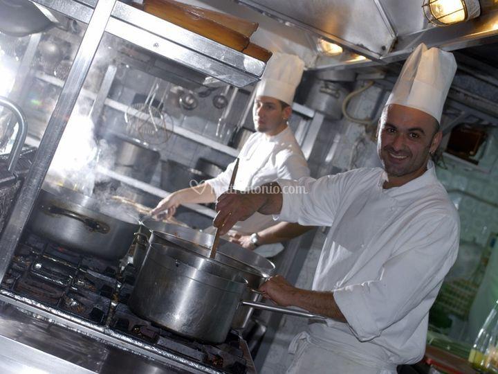 Cucina hotel grazia