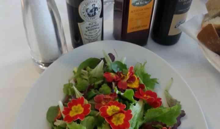 Verdure a buffet
