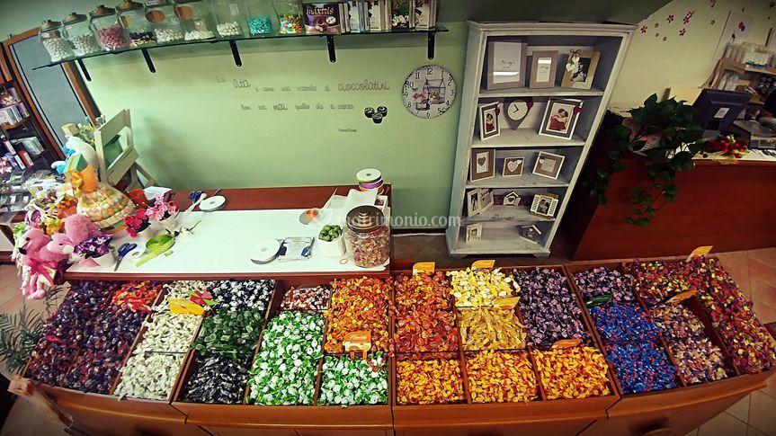 Selezione dolciumi