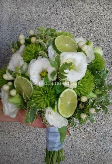 Bouquet con lime