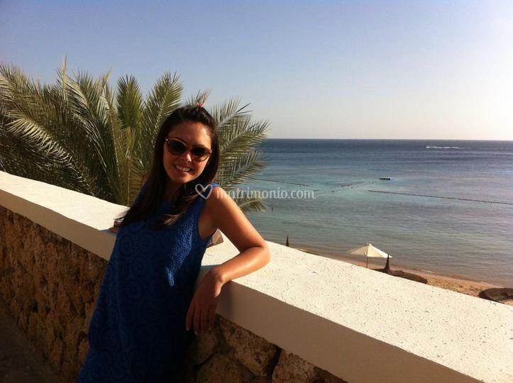 Sara a Sharm el Sheikh