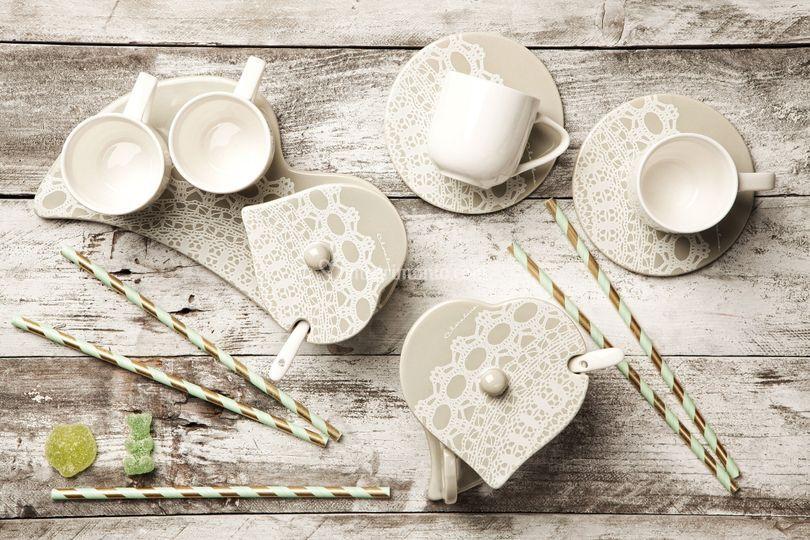 Linea tavola in porcellana