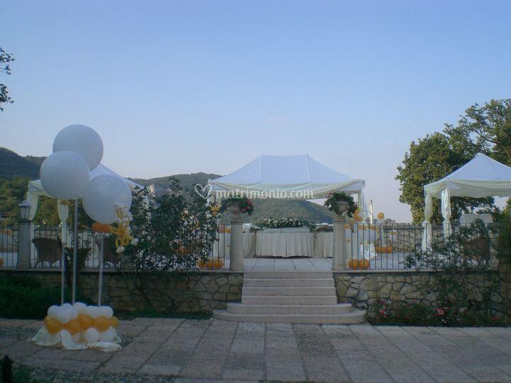 Gazebo matrimonio Vicenza