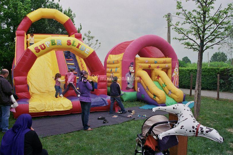 Super Slide  e Clown Slide